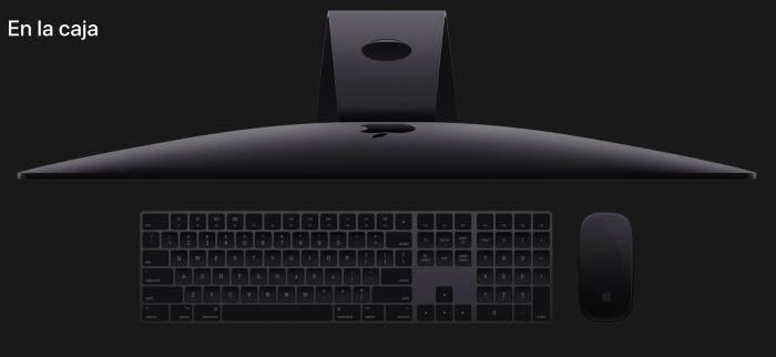 Contenido de la Caja iMac Pro 2018
